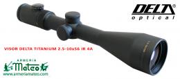 VISOR DELTA TITANIUM HD 2.5-10X56 A4 IR