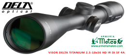 VISOR DELTA TITANIUM HD 2.5-10X56 4A Di SF