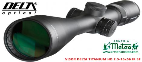 VISOR DELTA TITANIUM HD 2.5-15X56 A4 IR SF