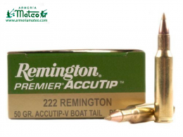 MUNICIÓN REMINGTON ACCUTIP 222 50 GR