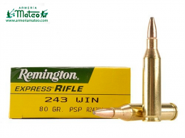 MUNICION REMINGTON CORE LOCK SPS 243 W 80 GR