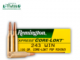 MUNICION REMINGTON CORE LOCK SPS 243 W 100 GR