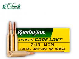 MUNICION REMINGTON CORE LOCK SPS 243 W 100 GR