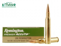 MUNICION REMINGTON ACCUTIP 280 REM 140 GR