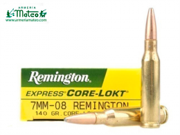 MUNICION REMINGTON CORE LOCK SPS 7-08 REM 140 GR