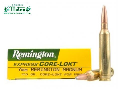 MUNICION REMINGTON CORE LOCK SPS 7MM RM 150 GR