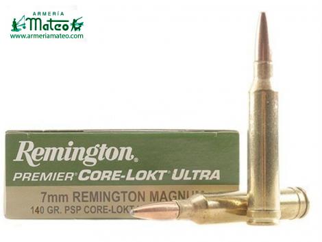 MUNICION REMINGTON CORE LOCK ULTRA SPS 7MM RM 140 GR