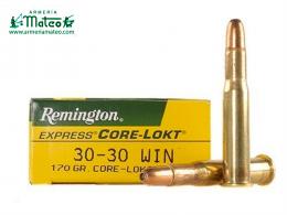 MUNICION REMINGTON CORE LOCK HP 30-30 170 GR
