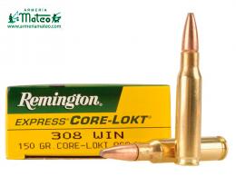 MUNICION REMINGTON CORE LOCK SPS 308 150 GRS