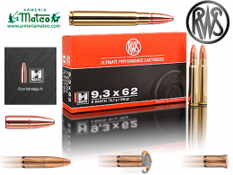 MUNICION RWS H-MANTEL 9,3X62