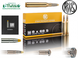 MUNICION RWS EVO 8X68 S