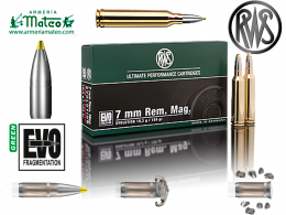 MUNICION RWS EVO GREEN 7MM REM MAG