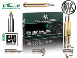 MUNICION RWS EVO GREEN 300 WIN MAG