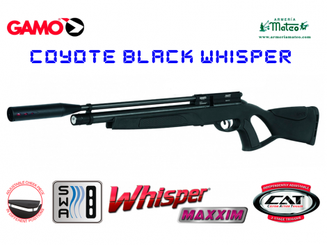 coyote black whisper
