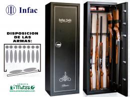 Armero Homologado INFAC HP8 10 Armas con Visor