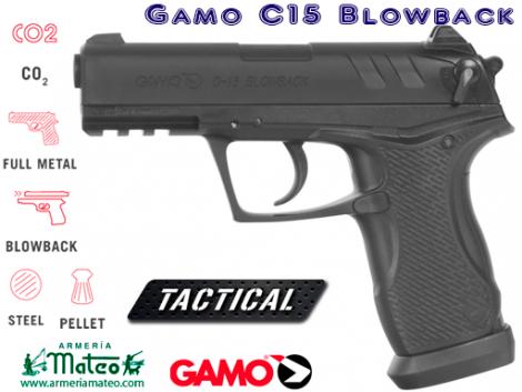 Pistola GAMO C15 BLOWBACK