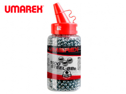 PELLETS Umarex 1500 BB's NICKEL