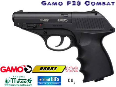 PISTOLA GAMO P-23 COMBAT