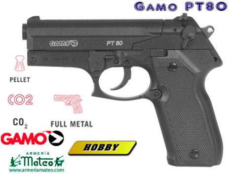 PISTOLA GAMO PT-80 CO2