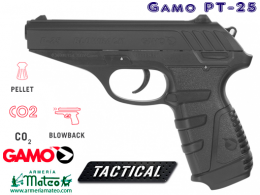 PISTOLA GAMO PT 25 BLOWBACK