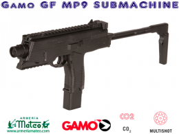 Pistola GAMO MP 9 Submachine Co2