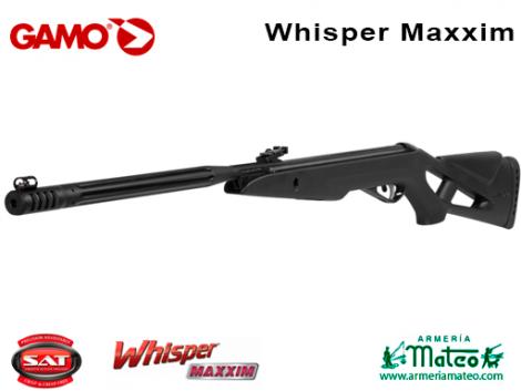 Carabina Gamo Whisper Maxxim - Armería Mateo