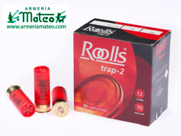 Cartuchos Roolls Trap 2