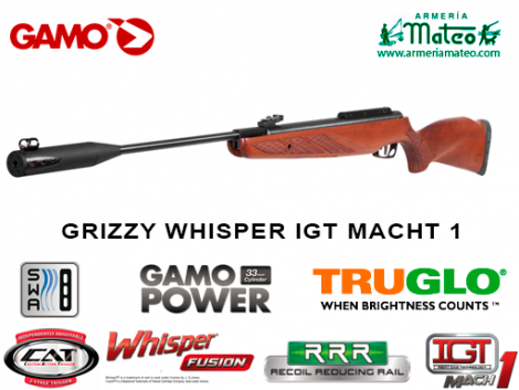 CARABINA GAMO GRIZZLY 1250  IGT MACH 1