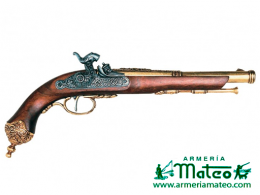 pistola percusion 1825