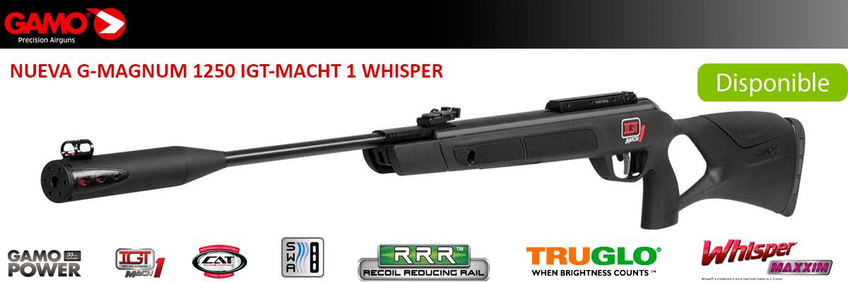 Carabina Gamo G-Magnum 1250 IGT Macht 1 Whsiper