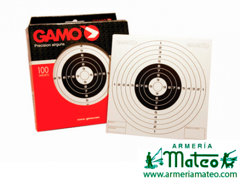 PACKET 100 TARGETS