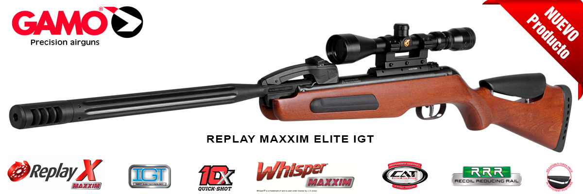 Carabina Gamo Replay Maxxim Elite IGT