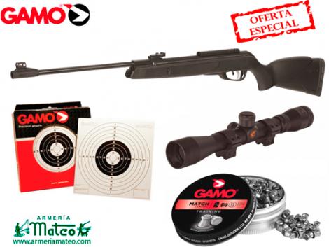 CARABINA GAMO BLACK 1000 PACK OFERTA CAL. 6.35
