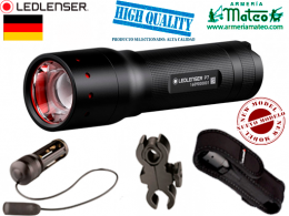 KIT CAZA LED LENSER 450 LUMENS