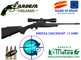 Rifle monotiro Ardesa Crackshot 17 hmr
