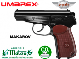 PISTOLA LEGENDS MAKAROV CO2
