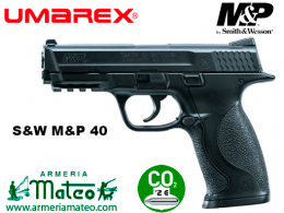 Pistola Umarex s&w mp 40