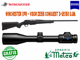 RIFLE WINCHESTER XPR CON VISOR ZEISS