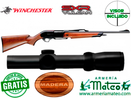 Rifle Winchester SXR Vulkan con visor 1-4x24