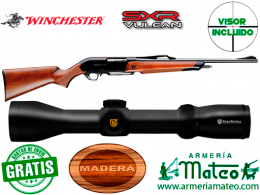 Rifle Winchester SXR Vulkan con visor 1.5-6x44