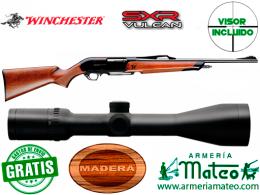 Rifle Winchester SXR Vulkan con visor 2.5-10x50