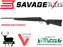 Rifle Savage Axis Zurdo