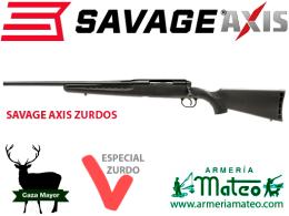Rifle Savage Axis Zurdo