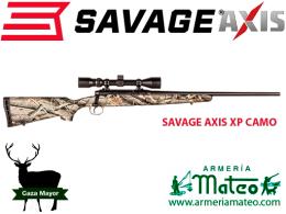 Rifle Savage Axis XP camo