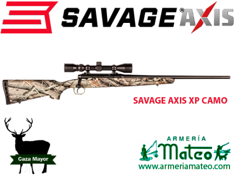 Rifle Savage Axis XP camo