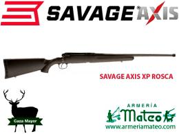 Savage axis con rosca