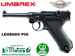 pistola legends p08 blowback co2