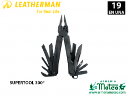 LEATHERMAN SUPERTOOL 300 NEGRA