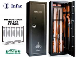 ARMERO INFAC MKP10 UNE EN 1143/1:2012