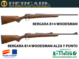Bergara B14 Woodsman